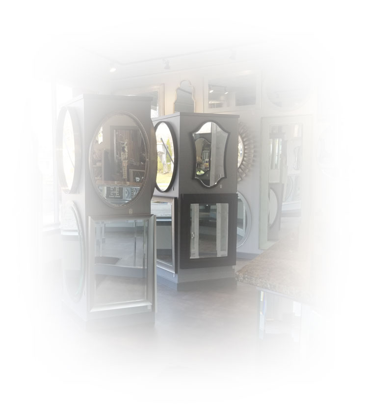 Gallery of mirrors and antique mirrors we offer.